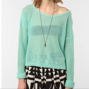byCORPUS Net Pullover Sweater